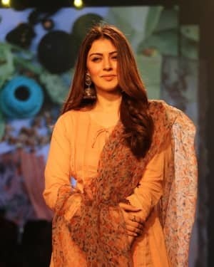 Photos: Hansika Motwani At LFW 2020