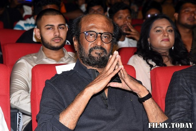 Rajinikanth - Darbar Movie Pre Release Event At Hyderabad Photos | Picture 1712375