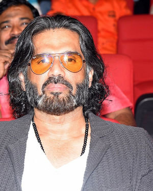 Sunil Shetty - Darbar Movie Pre Release Event At Hyderabad Photos