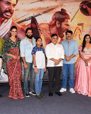 Mamangam Telugu Movie Trailer Launch Photos