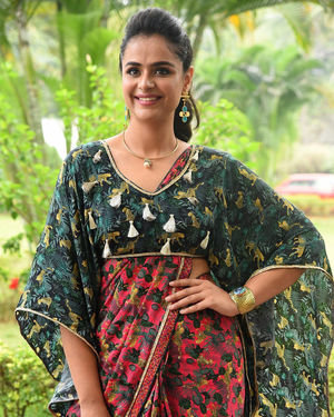 Prachi Tehlan - Mamangam Telugu Movie Trailer Launch Photos
