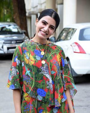 Samantha Akkineni - Majili Movie Success Meet Photos