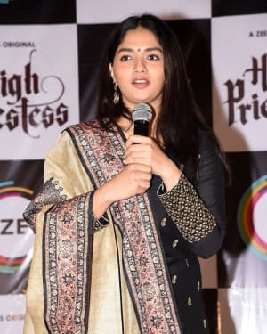Sunaina - High Priestess Telugu Web Series Trailer Launch Photos
