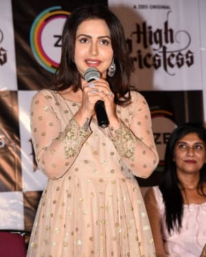 Nandini Rai - High Priestess Telugu Web Series Trailer Launch Photos