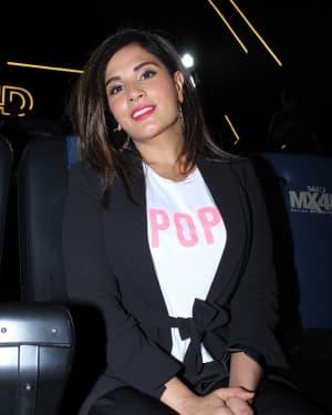 Photos: Richa Chadha At the Launch Of MX4D Screen at Inox