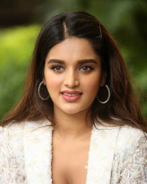 Nidhhi Agerwal - ISmart Shankar Movie Success Press Meet Photos