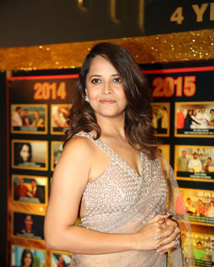 Anasuya Bharadwaj - Sakshi Excellence Awards 2018 Photos