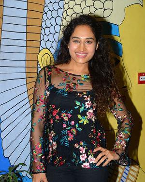 Pooja Ramachandran - Evaru Movie Premiere Show Photos