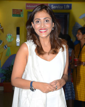 Madhu Shalini - Evaru Movie Premiere Show Photos