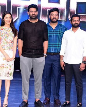 Saaho Movie Grand Pre Release Event Photos | Picture 1676438