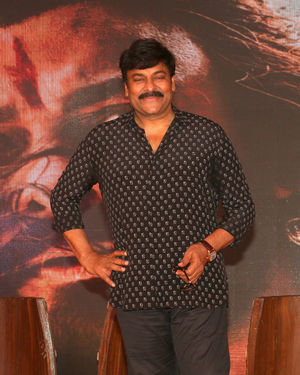 Chiranjeevi  - Photos: Trailer Launch Of Film Syeraa Narsimha Reddy At Jw Marriott