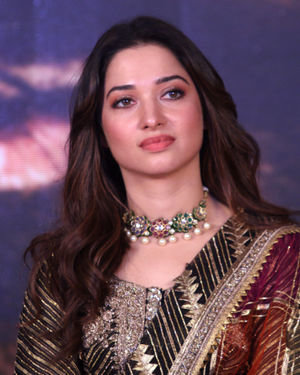 Tamanna Bhatia - Photos: Trailer Launch Of Film Syeraa Narsimha Reddy At Jw Marriott