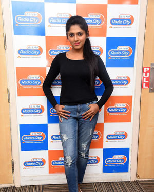 Charishma Shreekar - Neethone Hai Hai Movie Team At Radio City Photos | Picture 1677159