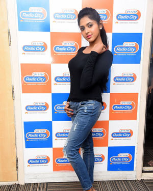 Charishma Shreekar - Neethone Hai Hai Movie Team At Radio City Photos | Picture 1677162