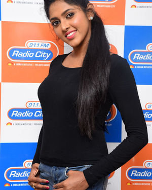 Charishma Shreekar - Neethone Hai Hai Movie Team At Radio City Photos | Picture 1677161