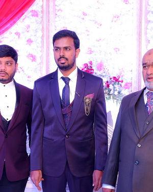 Celebs At Wedding Reception Of Syed Javed Ali And Sadiya Waheed Photos | Picture 1705932