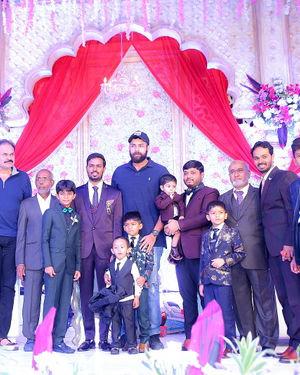 Celebs At Wedding Reception Of Syed Javed Ali And Sadiya Waheed Photos