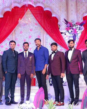 Celebs At Wedding Reception Of Syed Javed Ali And Sadiya Waheed Photos | Picture 1705963