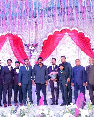 Celebs At Wedding Reception Of Syed Javed Ali And Sadiya Waheed Photos | Picture 1705952