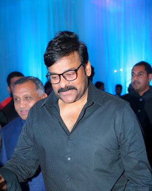 Chiranjeevi  - Celebs At Wedding Reception Of Syed Javed Ali And Sadiya Waheed Photos