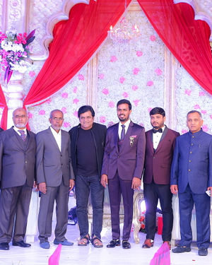 Celebs At Wedding Reception Of Syed Javed Ali And Sadiya Waheed Photos | Picture 1705992