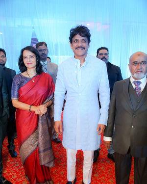 Celebs At Wedding Reception Of Syed Javed Ali And Sadiya Waheed Photos | Picture 1705934