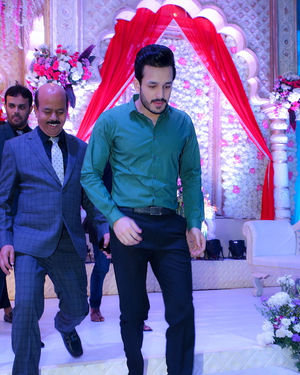 Celebs At Wedding Reception Of Syed Javed Ali And Sadiya Waheed Photos | Picture 1706042