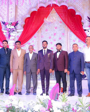 Celebs At Wedding Reception Of Syed Javed Ali And Sadiya Waheed Photos | Picture 1705968