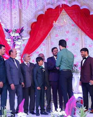 Celebs At Wedding Reception Of Syed Javed Ali And Sadiya Waheed Photos | Picture 1706040