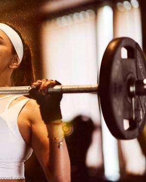 Actress Lakshmi Manchu In Gym Photos