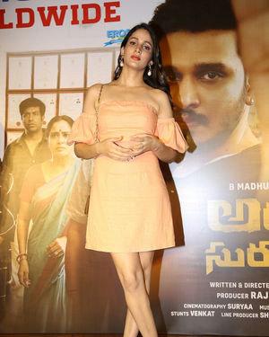 Lavanya Tripathi - Arjun Suravaram Movie Success Meet Photos | Picture 1707217