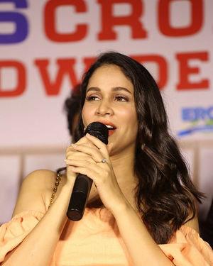 Lavanya Tripathi - Arjun Suravaram Movie Success Meet Photos | Picture 1707202