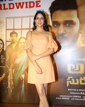 Lavanya Tripathi - Arjun Suravaram Movie Success Meet Photos | Picture 1707218