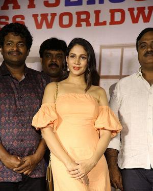 Lavanya Tripathi - Arjun Suravaram Movie Success Meet Photos | Picture 1707214