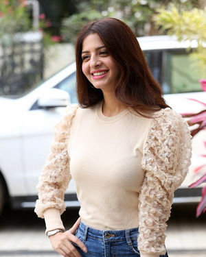 Vedhika At Ruler Movie Interview Photos | Picture 1708480