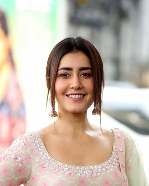 Raashi Khanna - Venky Mama Movie Success Meet Photos