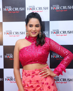 Himaja - Telugu Bigg Boss Celebs At Salon Hair Crush Launch Photos