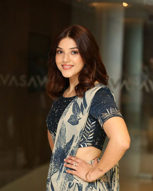 Mehreen Kaur - Entha Manchivaadavuraa Movie Press Meet Photos | Picture 1710267