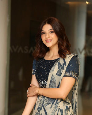 Mehreen Kaur - Entha Manchivaadavuraa Movie Press Meet Photos | Picture 1710261
