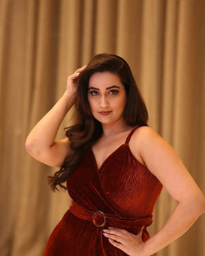 Manjusha - Beautiful Telugu Movie Pre Release Event Photos | Picture 1710876