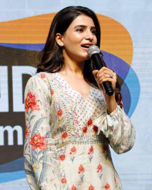 Samantha Akkineni - Oh Baby Movie Thanks Meet At Vijayawada Photos
