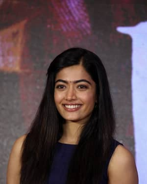 Rashmika Mandanna - Dear Comrade Telugu Film Trailer Launch Photos | Picture 1662471