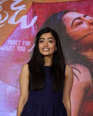 Rashmika Mandanna - Dear Comrade Telugu Film Trailer Launch Photos | Picture 1662474