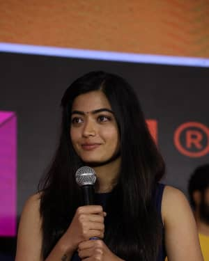 Rashmika Mandanna - Dear Comrade Telugu Film Trailer Launch Photos | Picture 1662460