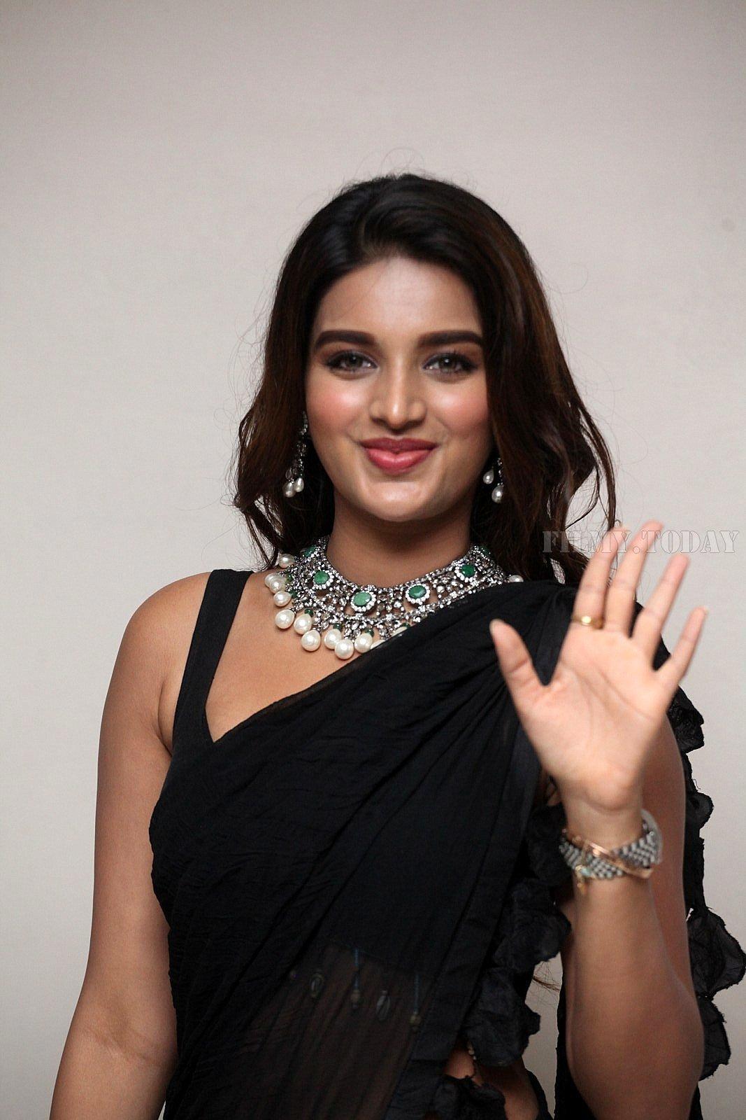 Nidhhi agerwal in saree latest hot photos gallery Photos