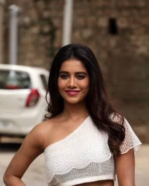 Nabha Natesh Hot Photos Snapped At Ismart Shankar Interview
