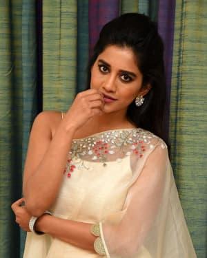 Nabha Natesh - ISmart Shankar Movie Promotions Photos