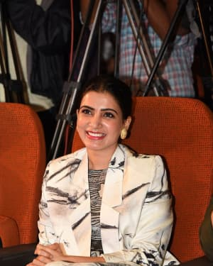 Samantha Akkineni - Evaru Movie Teaser Launch Photos