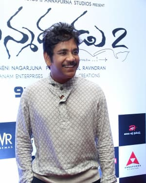 Nagarjuna Akkineni - Manmadhudu 2 Movie Trailer Launch Photos