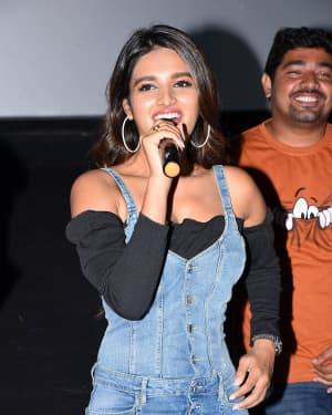 Nidhhi Agerwal - Ismart Shankar Movie Success Tour At Nalgonda And Suryapet Photos | Picture 1670237